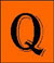 This icon leads to the songs beginning with the letter 'Q'.