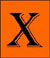 This icon leads to the songs beginning with the letter 'X'.