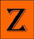This icon leads to the songs beginning with the letter 'Z'.