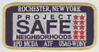 The Bureau of ATF, Project Safe Neighborhoods Task Force, Rochester, NY.