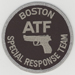 The Bureau of ATF, Special Response Team (SRT), Boston Field Division (1992-1996).