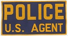 The U.S. Agent/Police patch used by several Treasury Department agencies.