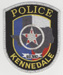 The Kennedale Police Dept., Kennedale, Texas.
