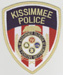 The Kissimmee Police Dept., Kissimmee, Florida.