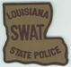 The Louisiana State Police, SWAT Team.