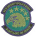The USAF, 50th Security Police Squadron.